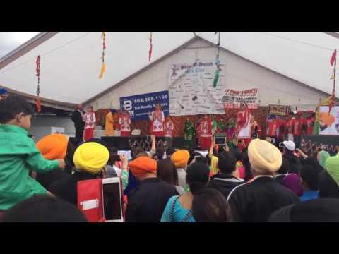Vaisakhi parade 2016 surrey british columbia canada