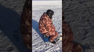 Рыбалка в марте на озере / чаны 2018 / зеленчак / поймали на уху