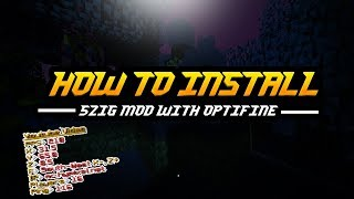 Minecraft | How to install 5zig PvP Mod with Optifine 1.8 and many more (2017)