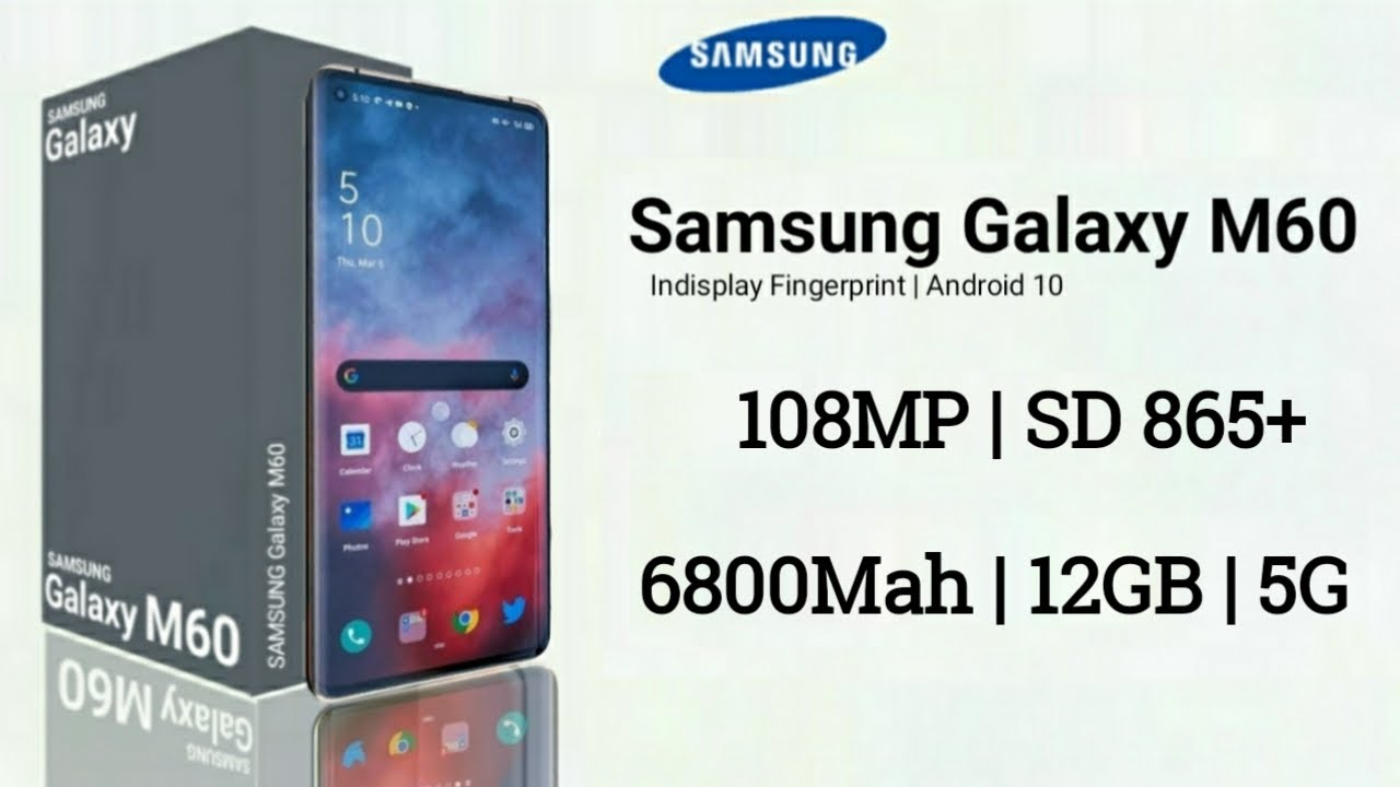 Samsung Galaxy M60 - Box & First Look, 108MP Camera, Indisplay Fingerprint, Launch, Price, Specs