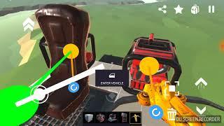 Как построить машину В игре Evertech sandbox