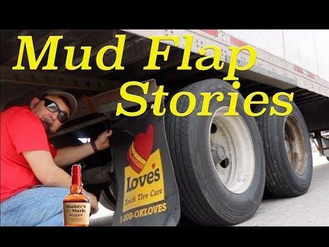 #99 Mud Flap Stories, Trucker Jim's Truckin Journey