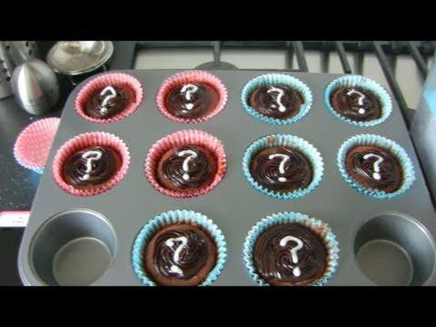 Betere How to: Zelf 'Gender Reveal Cupcakes' maken - YouTube AQ-35