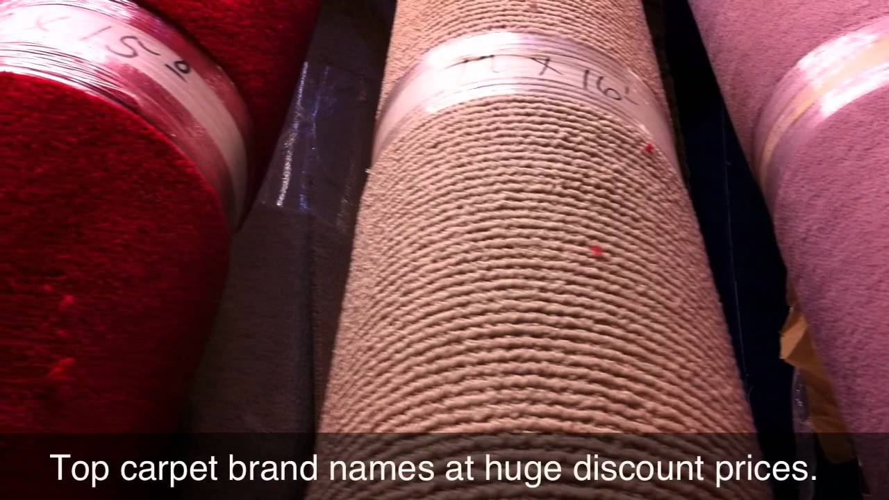 Brand name Carpet Remnants Los Angeles at Crenshaw Carpet