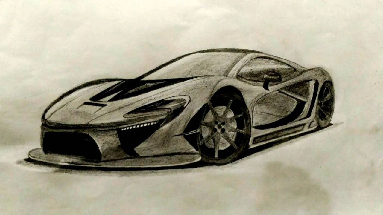 McLaren P1 vẽ bằng bút chì|Drawing car|Đam mê