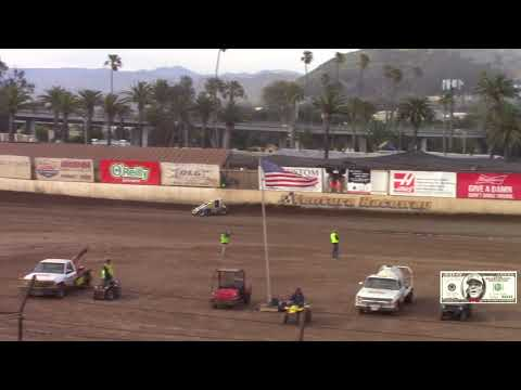 CRA/ USAC 410 Sprint Cars Heat# 2 Ventura Raceway 5-5-18