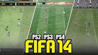ASÍ ERA FIFA 14 EN 3 GENERACIONES (PS2-PS3-PS4)