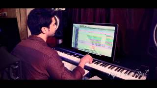 "Raj Prakash Paul - Making of the song ""Ninnu Nenu Viduvanayya"""