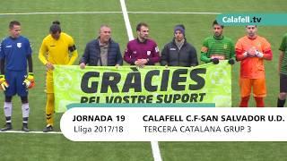 Calafell Esportiu   Fútbol   CF Calafell 3-1 UD Sant Salvador
