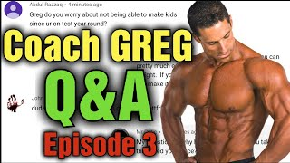 This is a can't miss episode!!! Q&A With Coach Greg Doucette!!! - Episode 3