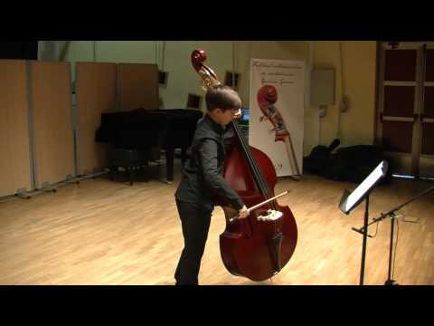 2016 Galicia Graves Junior Double bass Competition FINALIST/Iago López