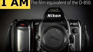 Никон Ф-801 (N8008) 35-мм плівкової камери аутсайдера.