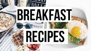 רעיונות לארוחות בוקר טעימות ☀️