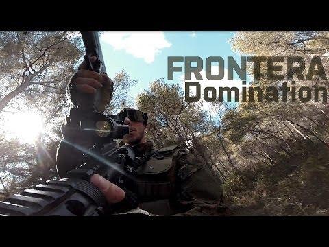 Airsoft Gameplay · DOMINATION · La Frontera