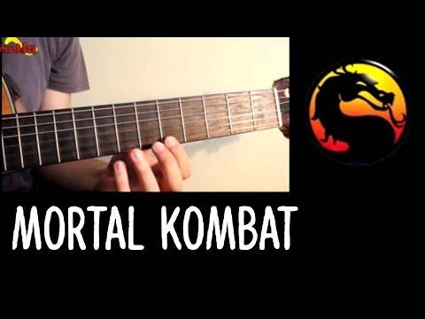 Mortal Kombat Theme - Como tocar no Violão Acoustic Guitar - YouTube
