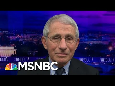 Dr. Anthony Fauci Calls Racial Disparities In Vaccination Rates 'Very Disturbing'   The Reidout
