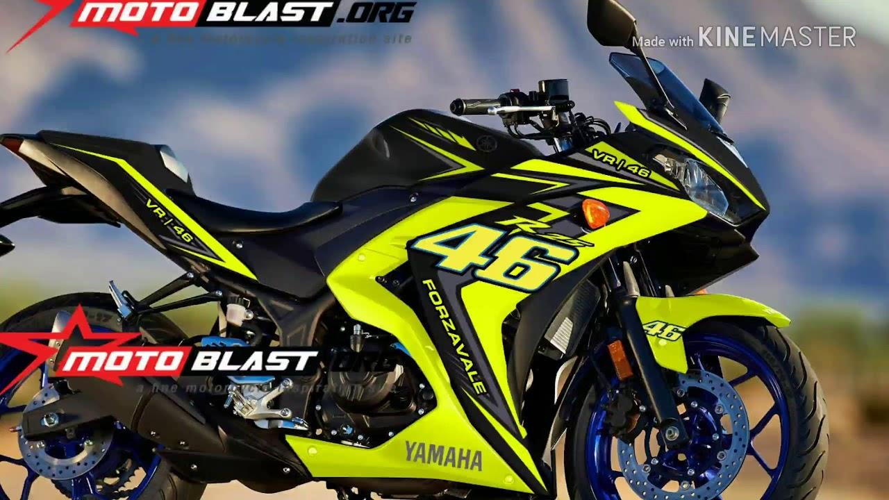 Yamaha r3 r25 sticker modification