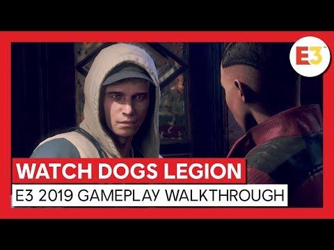 WATCH DOGS LEGION - E3 2019 GAMEPLAY WALKTHROUGH | Ubisoft [DE]