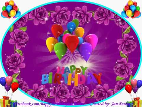 Thinking Of You Happy Birthday Wishes
