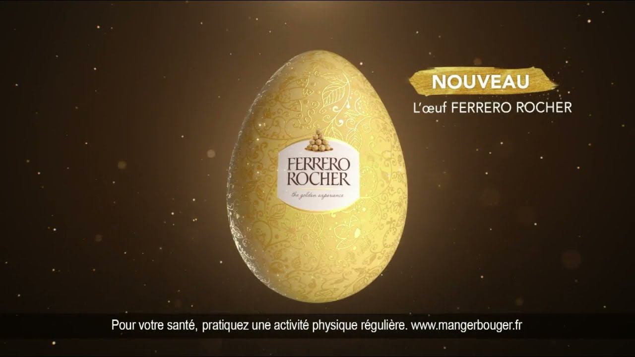 """Musique de la pub Nouveau L'Œuf Ferrero Rocher Pâques """"créateur de magie""""  2021"""