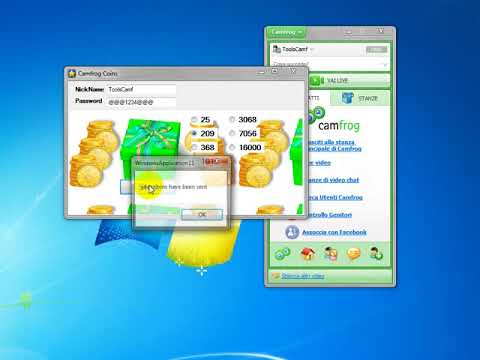 Camfrog Coins free new  6.29