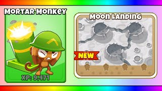BTD 6 6 0   Moon Landing Map Mortar Monkeys Only! +