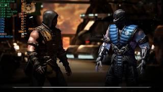 Egpu Gameplay test /w Msı Gaming x 1050 2gb oc || Mortal Kombat X||  Exp Gdc 8.0 || internal display