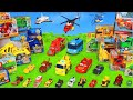 Fire Truck, Tractor, Trains, Dump Trucks, Police Cars & Excavator Toy Vehicles for Kids