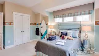 13 Irresistible Beach Style Child's Room Designs That You Need To See