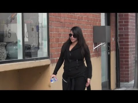 Kim Kardashian Tries Very Hard To Stay In Shape