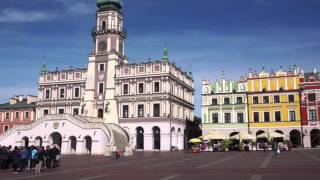 [世界遺産]ポーランド・ザモシチ旧市街 Zamość old city