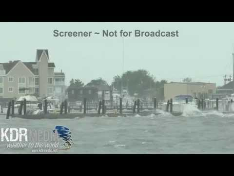 10-03-15 Cary Meltzer Cape May Bay, NJ Flooding & Surge