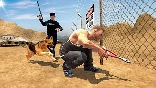 Border Police Dog Chase Sim 3D (by Bubble Fish Games) Android Gameplay [HD]
