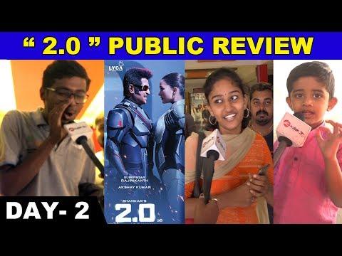 Solrathuku Onnum Illa - 2.O   Day -2 Public Review   Rajinikanth   Akshay Kumar   Shankar   Chennai