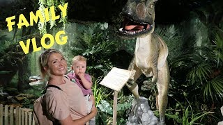 WE SAW DINOSAURS | DAY IN THE LIFE FAMILY DAY VLOG | ELLIE POLLY