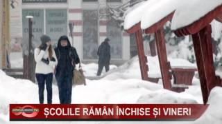 01 SCOLILE RAMAN INCHISE SI VINERI   30 IAN