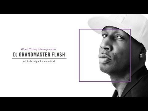 EPMG United: DJ Grandmaster Flash Demonstrating His Techniques On The Turntable