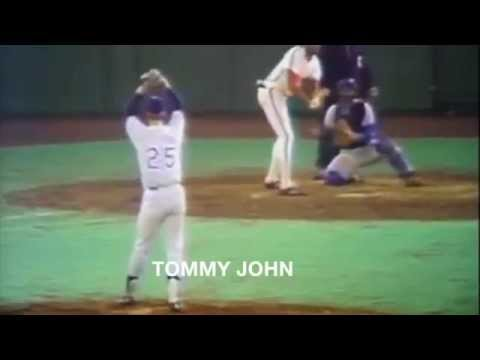 Tommy John's Delivery along with Several Hall of Famers
