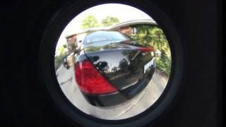 Sony Nex5 Honda Accord 2006 Black Sigma 4.5mm fisheye lens