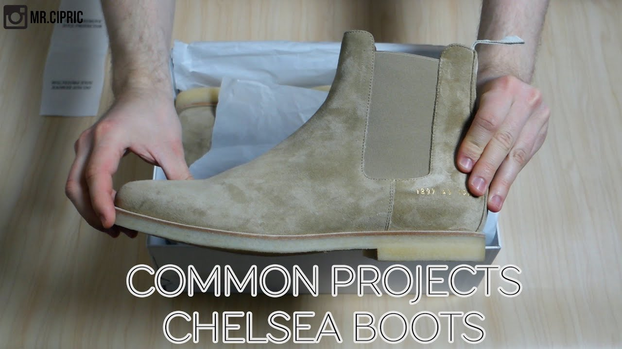 c8e831a1433 Common Projects Chelsea Boots   Unboxing + Fit