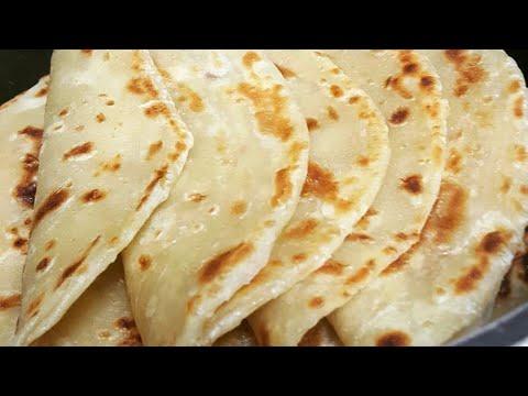 SOFT LAYERED CHAPATI   Step by Step (Rieska???)Flat bread