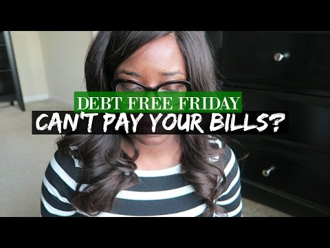 Cant Pay Your Bills Heres What To Do