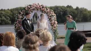 Самая красивая и романтичная свадьба в мире! Владимир и Юлианна. Фильм