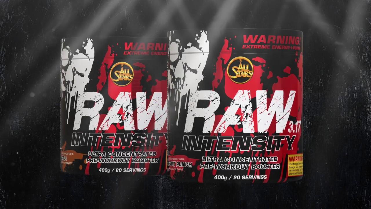 Allstars Raw Intensity 3.17 Test raw intensity
