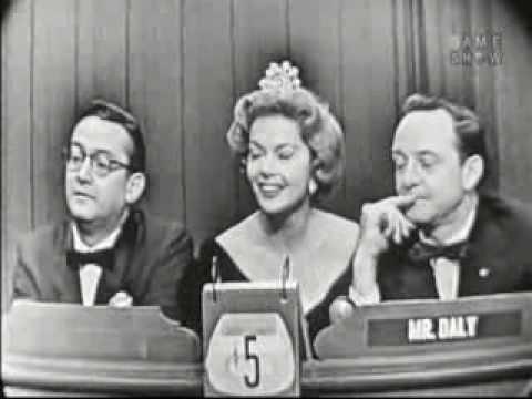 What's My Line? - Steve Allen & Jayne Meadows; Martin Gabel [panel] (Dec 23, 1956)