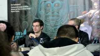 Christopher Paolini speaks in the Ancient Language @Lucca Comics 2012