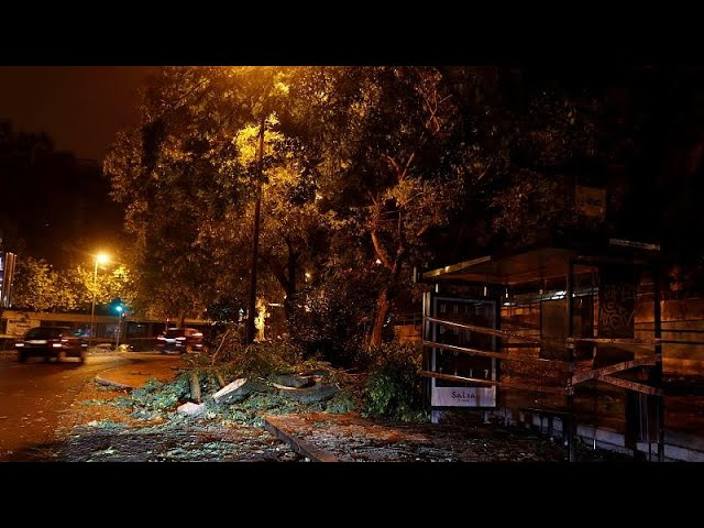 Hurricane Leslie causes widespread damage in Portugal