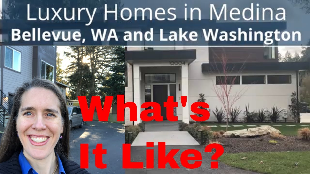 Living in Medina, WA - Luxury Real Estate in Bellevue, Washington:  The East Side of Lake Washington