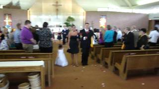 A Pittsburgh Steeler (Front Angle) Terrible Towel Wedding in Kansas City - Bride is shocked!