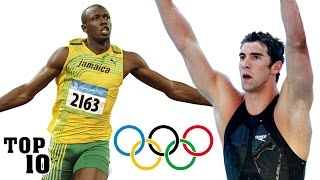 Top 10 Greatest Olympic Athletes of All Time